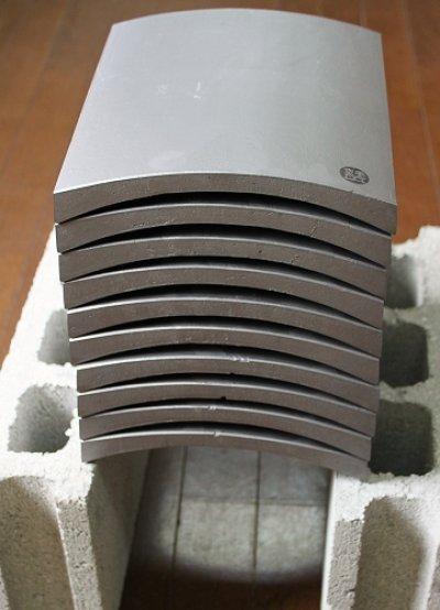 画像1: 割れやすい空手瓦(試割り瓦) 黒帯 お引き取りパック